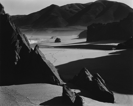 Brett Weston - Garrapata Beach 1954