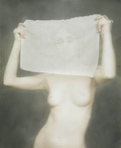Woman Holding Cloth, 1988