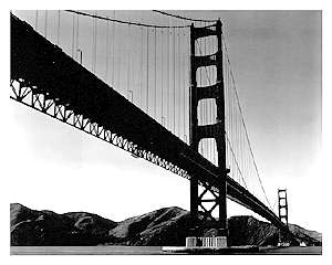 Golden Gate Bridge, 1938