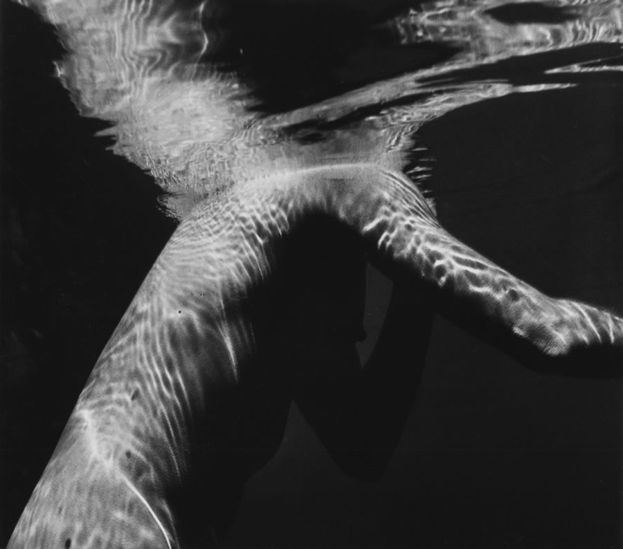 Brett Weston Underwater Nude